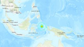 Magnitude 7.3 Quake Damages Homes in Eastern Indonesia