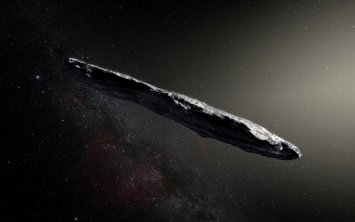 Interstellar Oumuamua