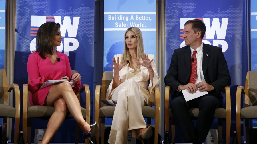 Ivanka Trump's Women's Initiative Announces $27 Million in Grants