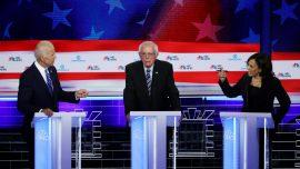 CNN Poll: Harris and Warren Rise and Biden Slides After First Democratic Debates