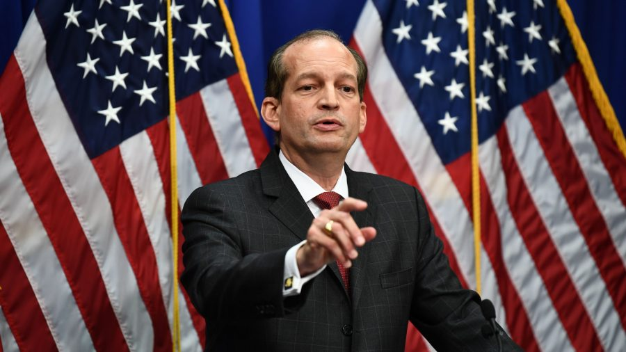 Labor Secretary Acosta Defends Epstein Deal, Says There Was More Victim Shaming 12 Years Ago
