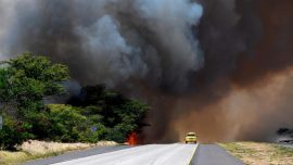 Residents on the Hawaiian Island of Maui Are Allowed to Go Home, but Wildfire Persists