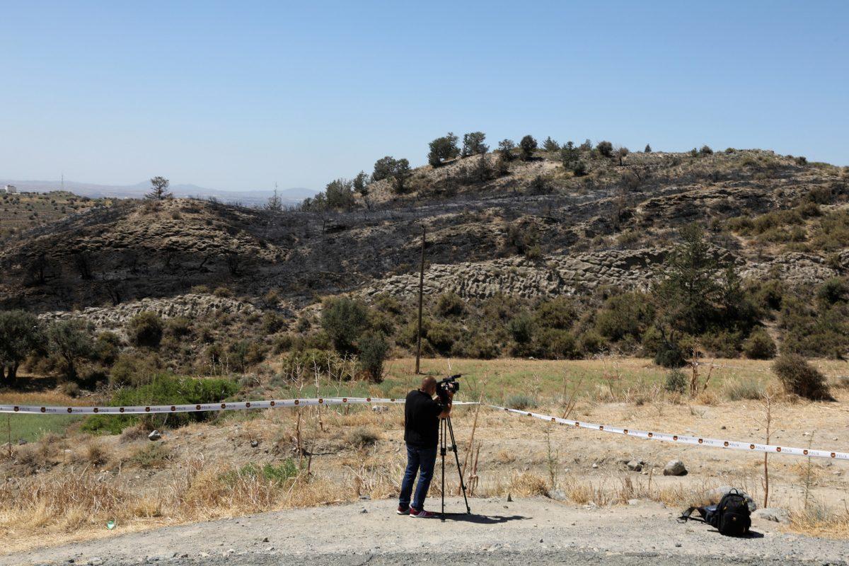 Missile Syria-Israel in Cyprus 3