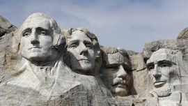Nebraska Woman Arrested, Fined for Climbing Mount Rushmore