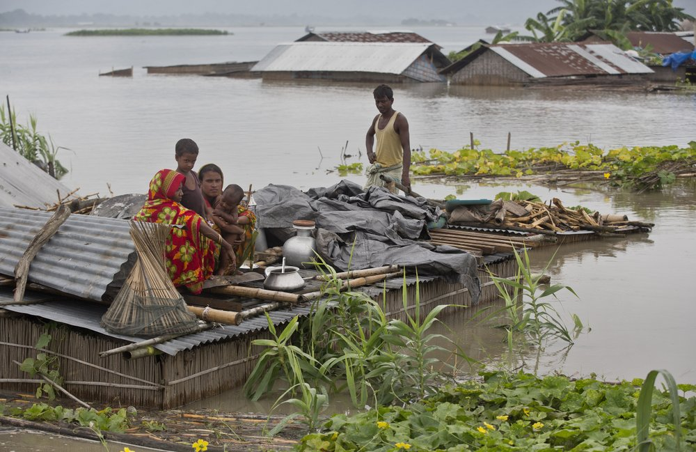 Nepal, India Floods 1