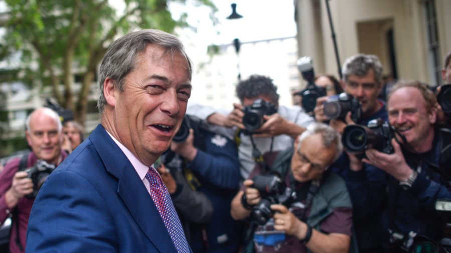 Brexit Party Leader Nigel Farage to Visit Australia for Launch of Conservative Political Conference