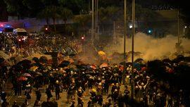 Hong Kong Leader Condemns Protesters Who Stormed Legislature