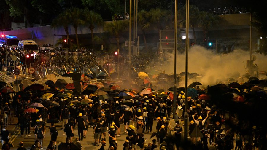 Hong Kong Leader Condemns Protesters Who Stormed Legislature