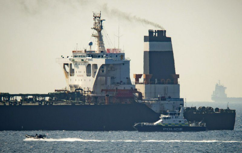 US Moves to Take Control of Iranian Tanker Seized by British Last Month