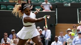 Williams Fined $10,000 for Damaging Wimbledon Court