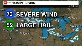 Heavy Damage After Midwest Storms Sweep Through 500 Miles in 10 Hours