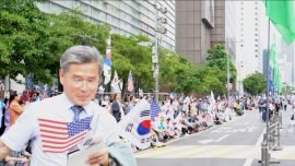 South Koreans Express Support for President Trump