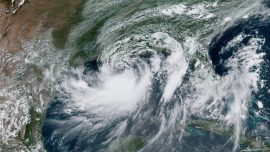 Tropical Storm Barry Unloads Strong Winds and Rain as It Gets Closer to Landfall in Louisiana