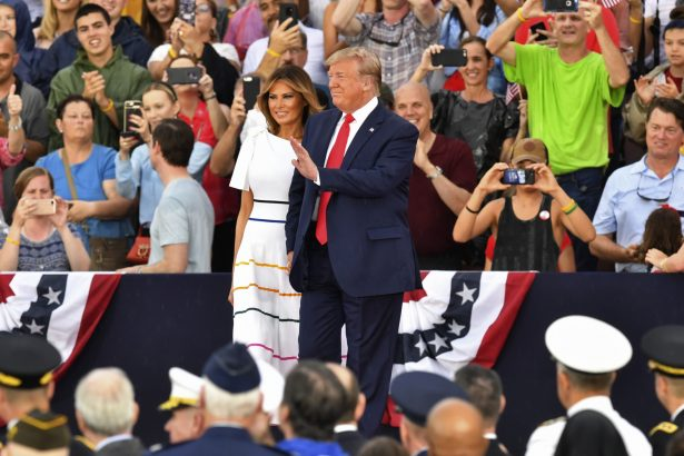 President Donald Trump and the First Lady