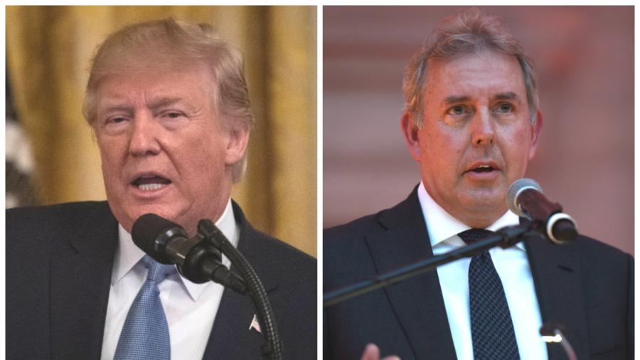 Trump Lambasts 'Wacky' UK Ambassador, Targets Theresa May