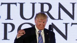 Trump Derides Growing Radical Left at Teen Student Action Summit