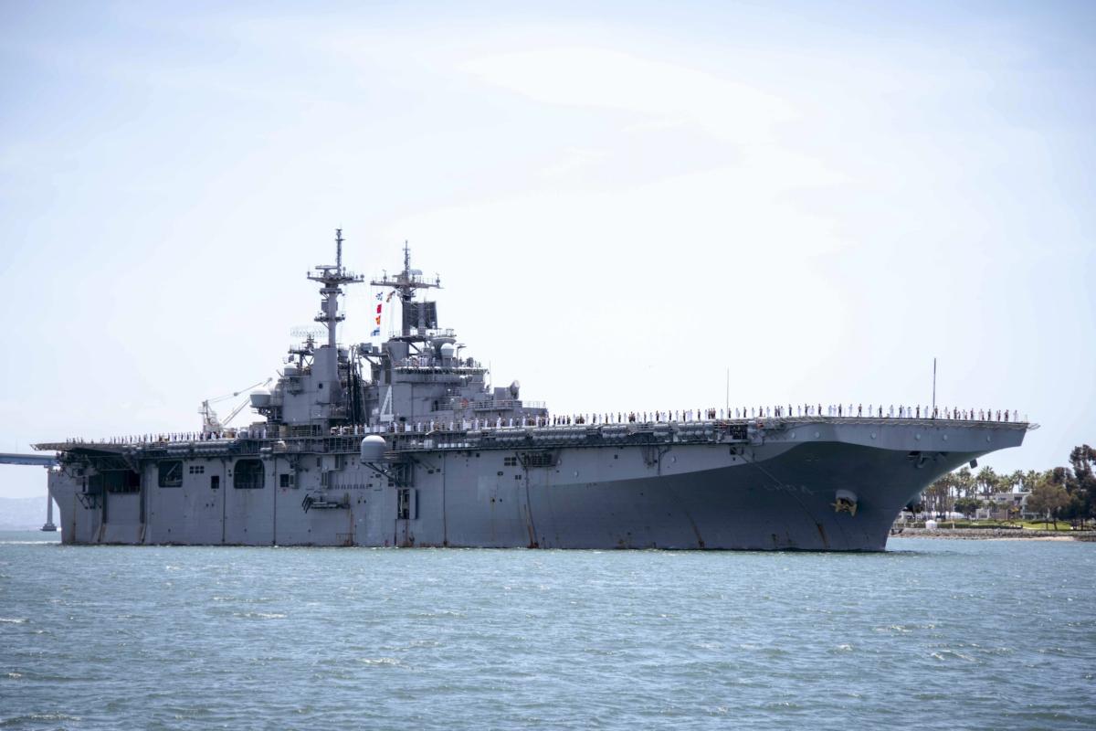 US Iran USS Boxer