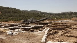 Remains of 9,000-Year-Old Neolithic Settlement Unearthed Outside Jerusalem