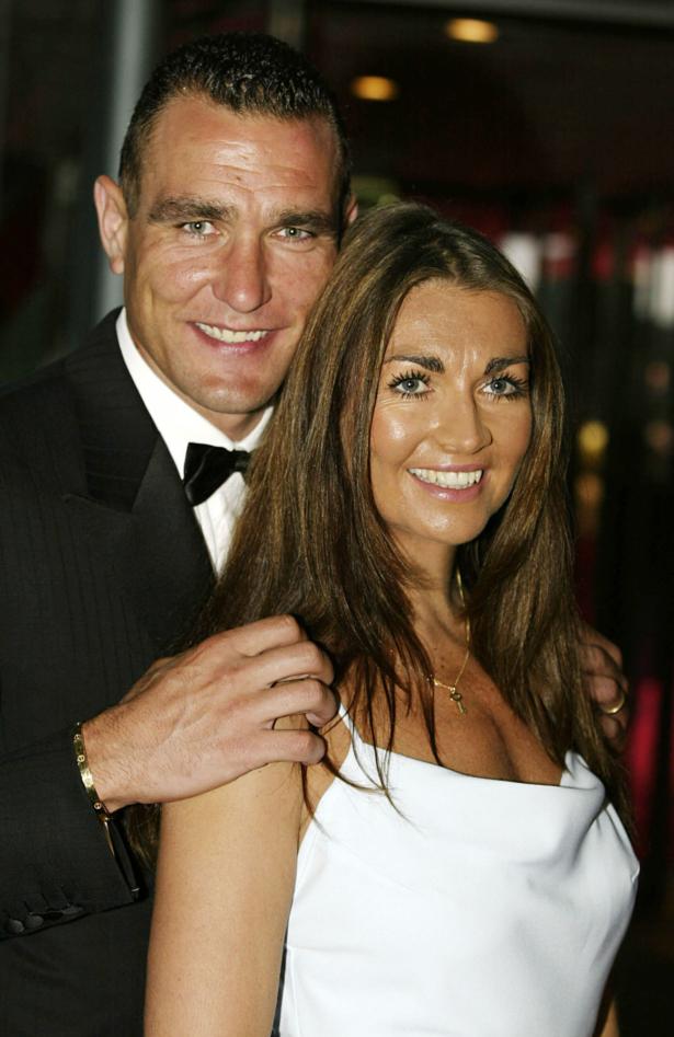Vinnie and Tanya Jones arrive at the Laureus World Sports Awards Ceremony