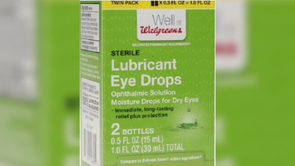 Walgreens Eye drops