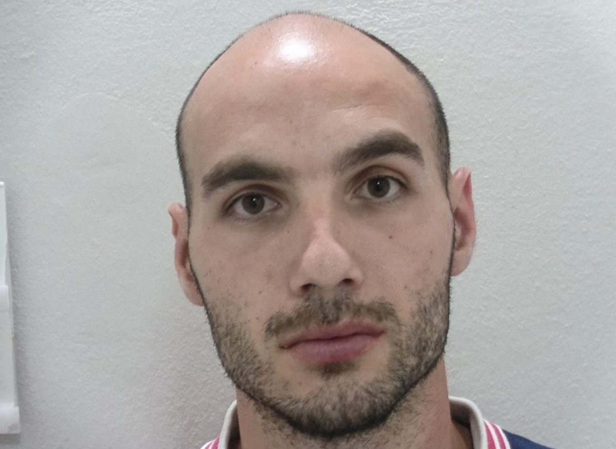 27-year-old Yiannis Paraskakis, accused of the brutal killing of American Suzanne Eaton