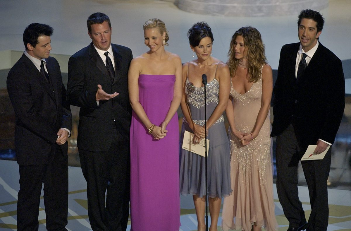 "file photo the cast of television's ""Friends"""