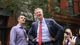 NYC's De Blasio Defends His Absence Amid Power Outage
