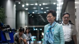 Hong Kong Leader Carrie Lam Has Offered to Resign Over Extradition Bill Protests But Beijing Says No: Reports