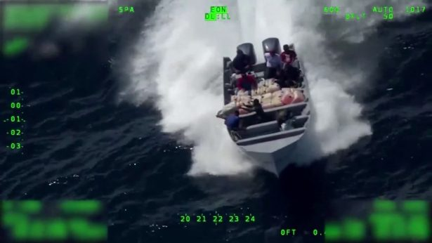 cocaine smugglers at sea