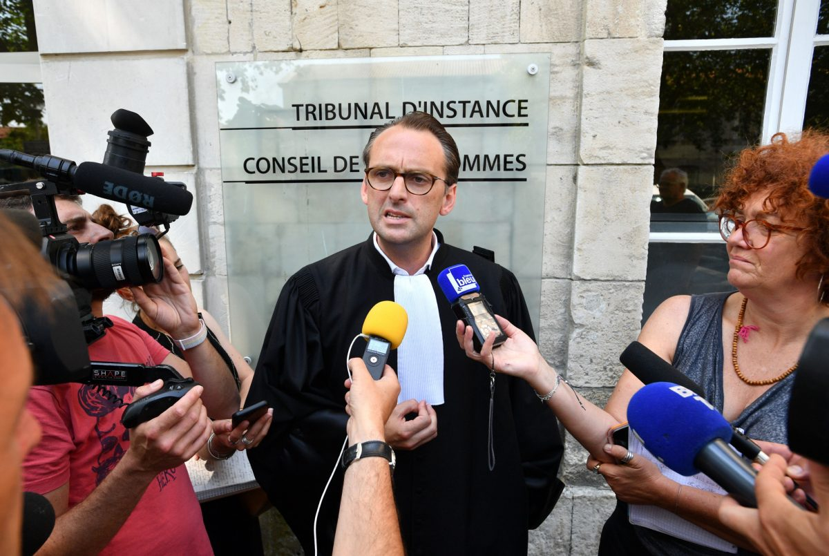 The lawyer of Corinne Fesseau