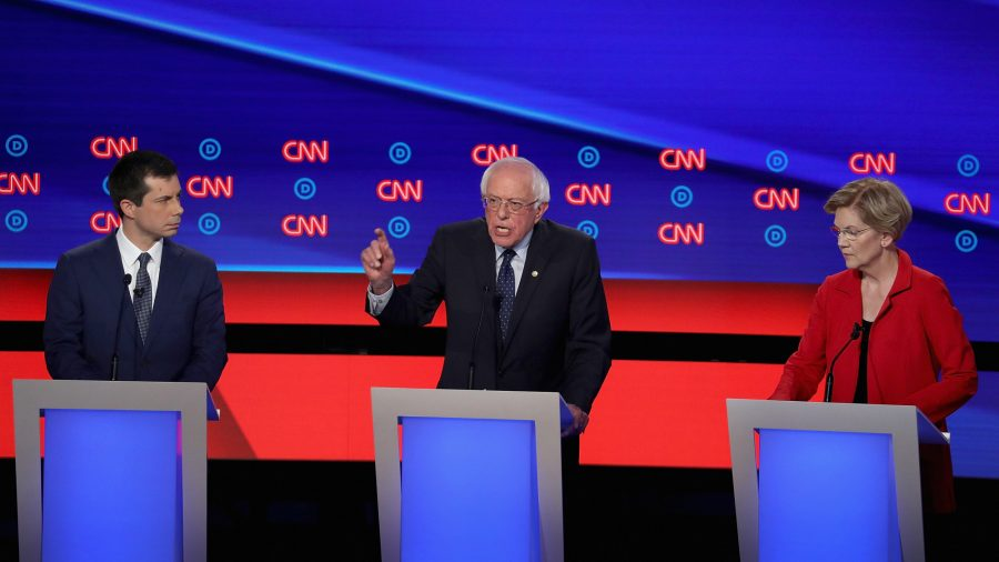 2020 Democratic Candidates Answer Question About Raising Middle Class Taxes to Pay for Healthcare