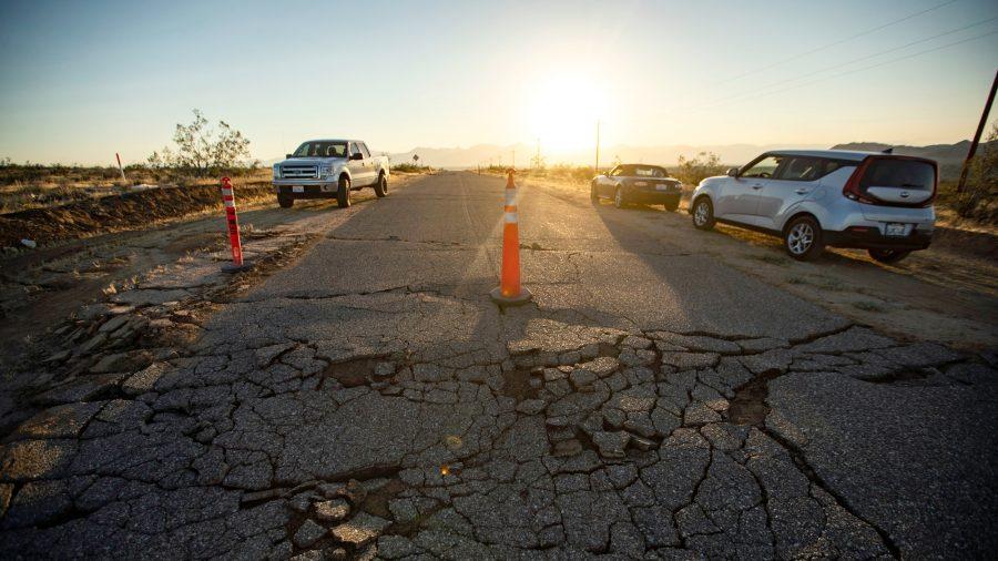 California's Big July Quakes Strain Major Fault: Study