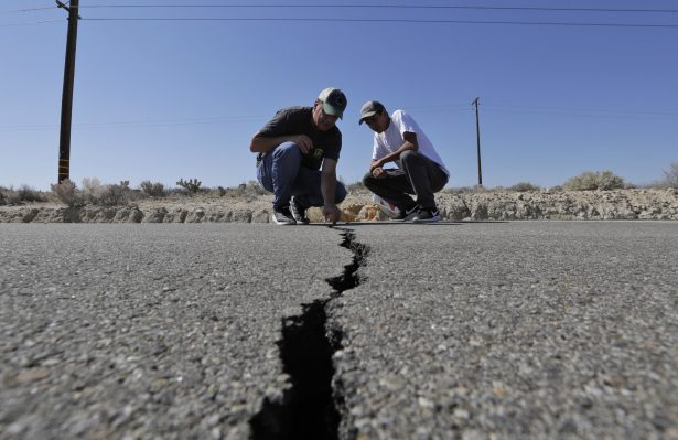 Man under Jeep likely crushed in CA quake, NV officials say