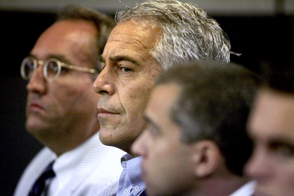 U.S. financier Jeffrey Epstein appears in court where he pleaded guilty to two prostitution charges in West Palm Beach