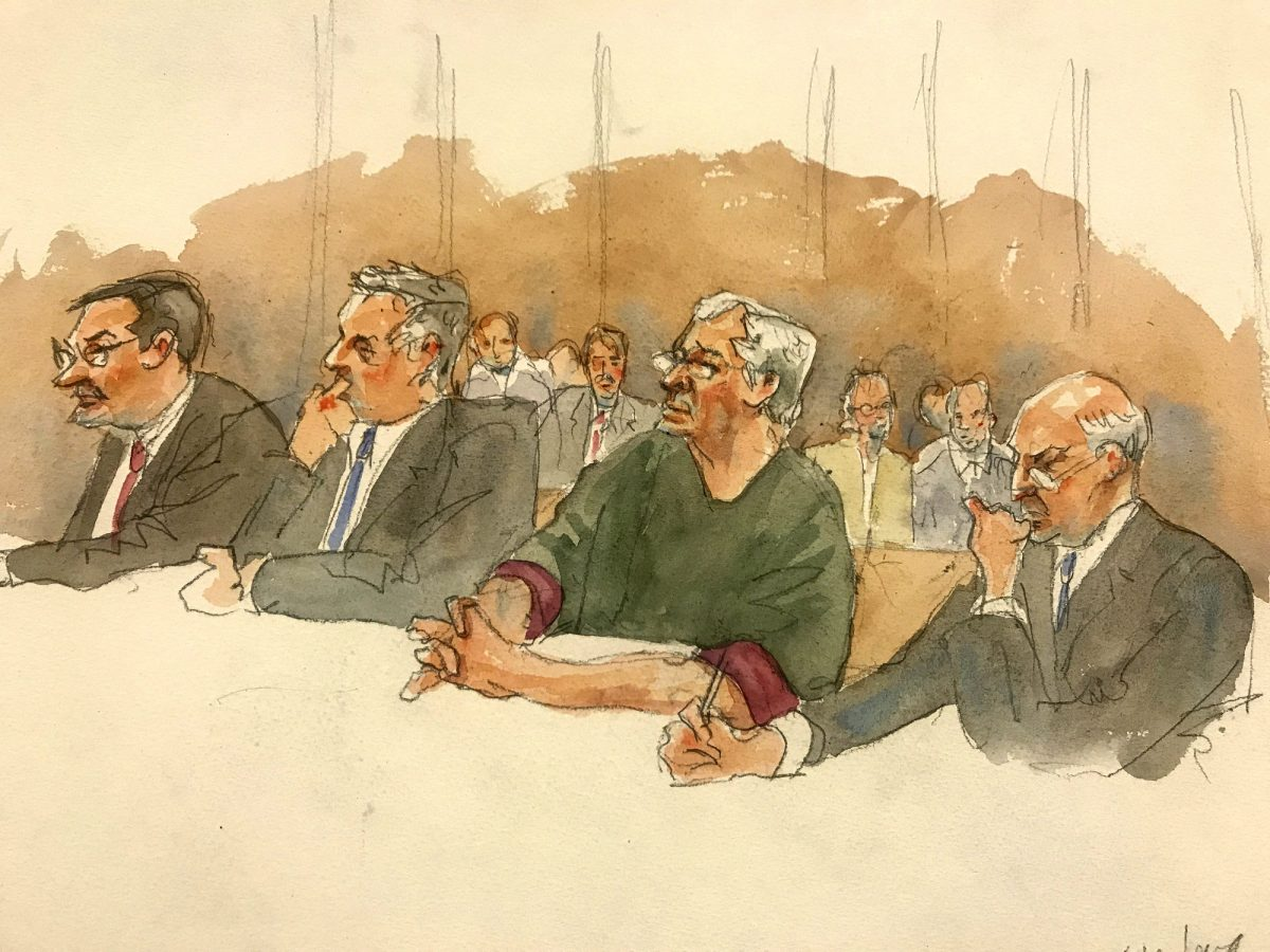 epstein court sketch