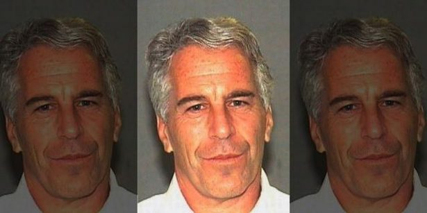 Epstein in Florida booking photo