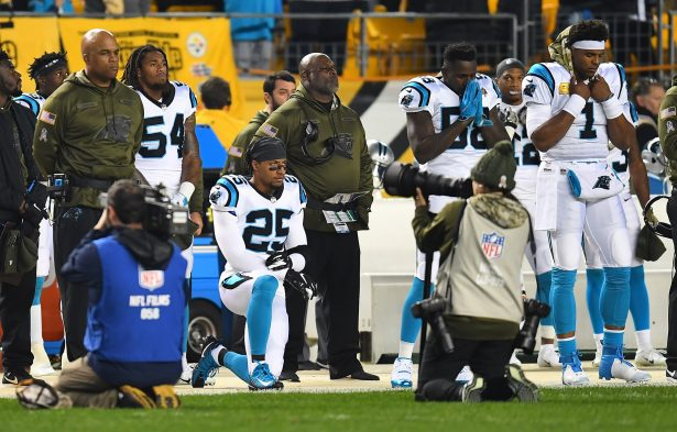 Panthers S Reid plans to kneel for anthem