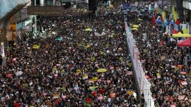 Hong Kong's July 1 March Sees Record Number of Attendees Demanding Extradition Bill Be Scrapped