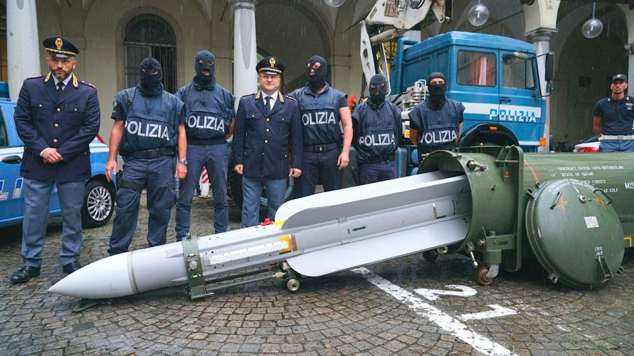 Italian Special Forces Seize Huge Cache of Armor and 'Combat-Ready' Missile in Raids on Far Right