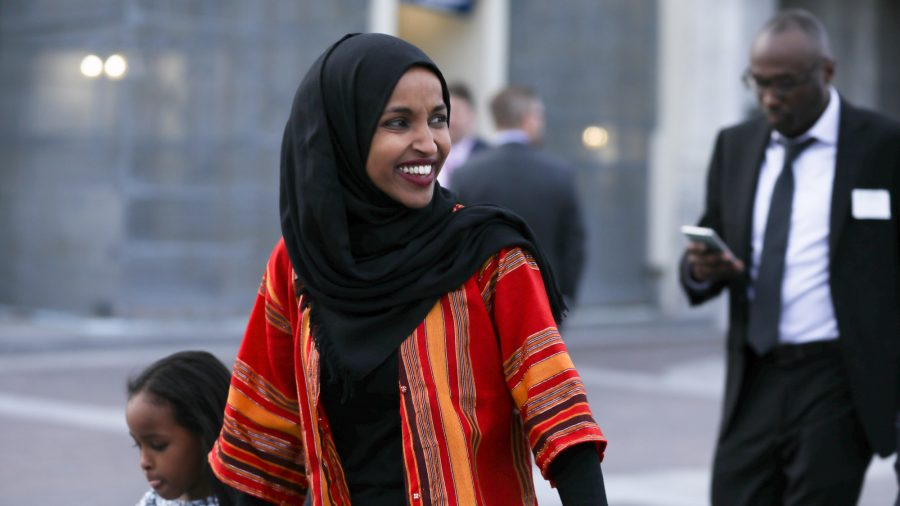 Ilhan Omar, Asked About Allegedly Supporting Al-Qaeda, Won't 'Dignify It With an Answer'