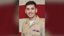 Navy Identifies Sailor Who Went Overboard in Persian Gulf