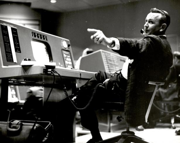 Christopher Kraft, flight director during Project Mercury