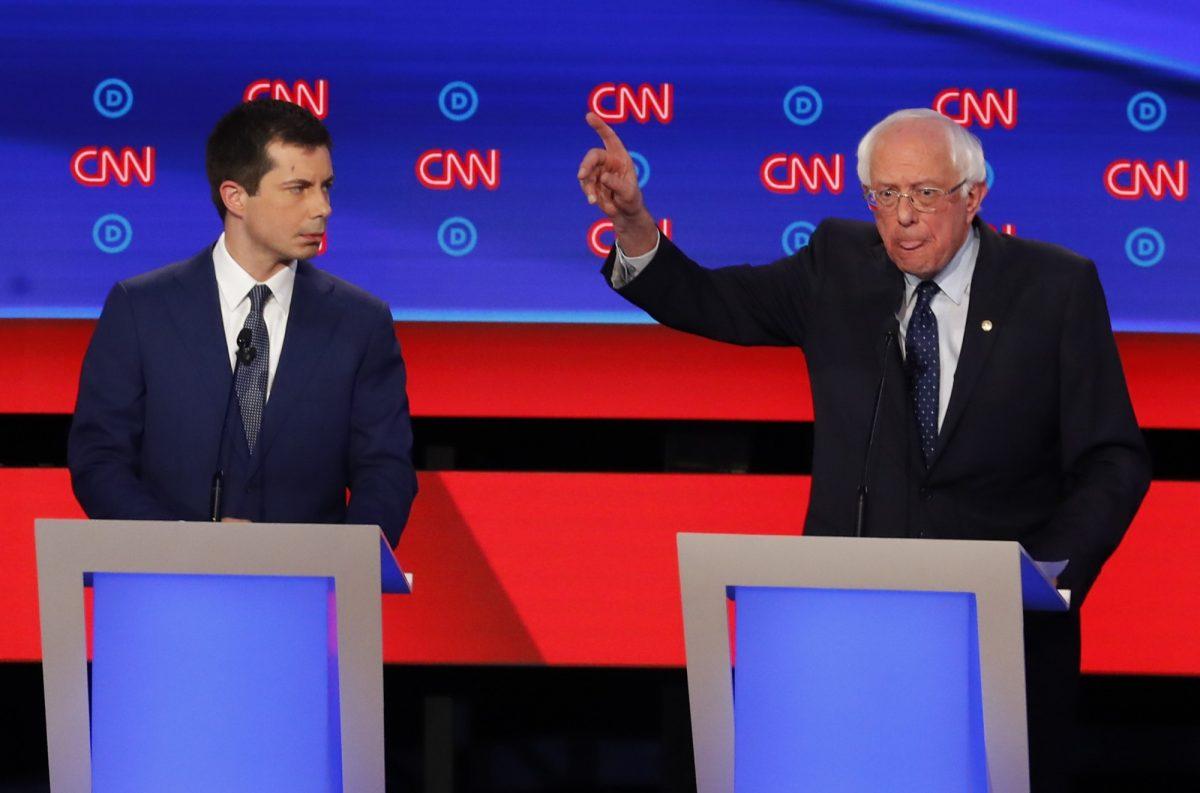 sanders at july 30 debate
