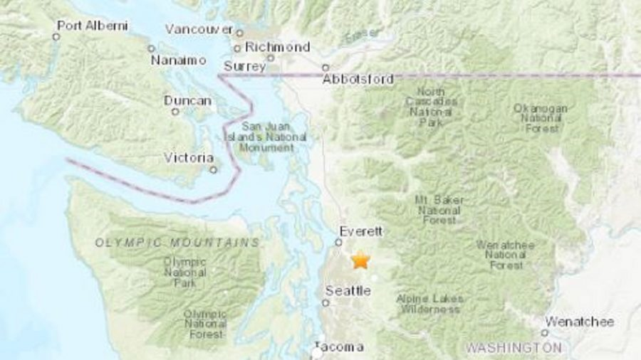 Earthquake shakes Puget Sound; no damage reported