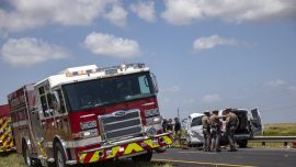 5 Killed in 3-vehicle Traffic Accident in South Texas