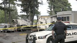 Woman, 3 Children Dead in Mobile Home Fire, Suspect Found Hours Later