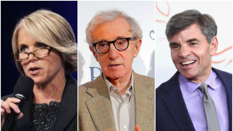 Katie Couric, Woody Allen, and George Stephanopoulos Attended Party With Epstein After 2008 Conviction