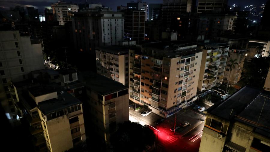 Widespread Blackout Hits Venezuela, Gov't Blames 'Electromagnetic Attack'