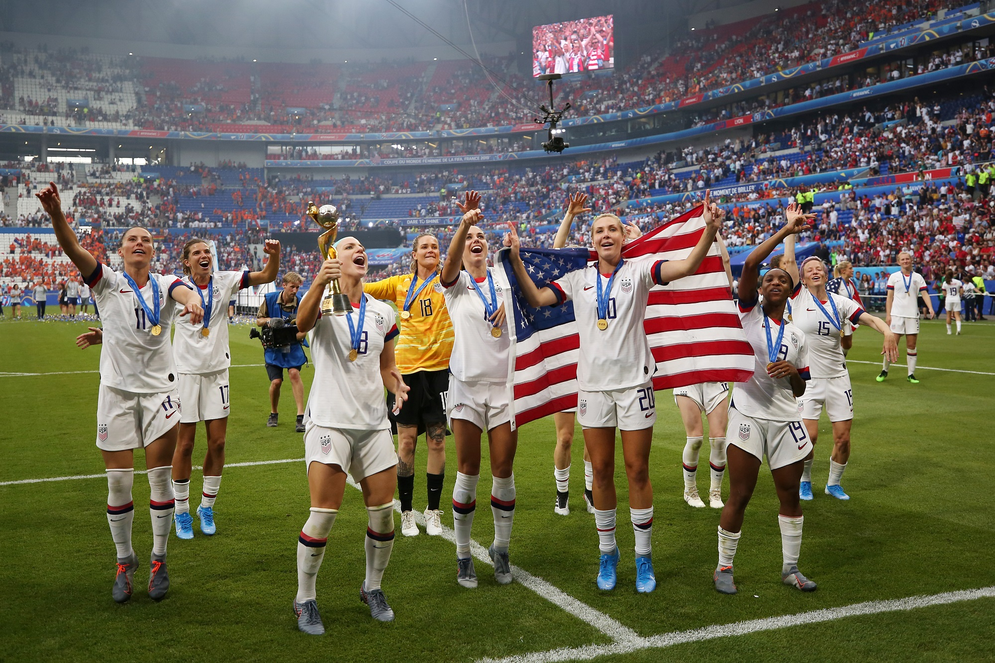 Amazing Disrespect:' Video Shows US Women's Soccer Team Letting