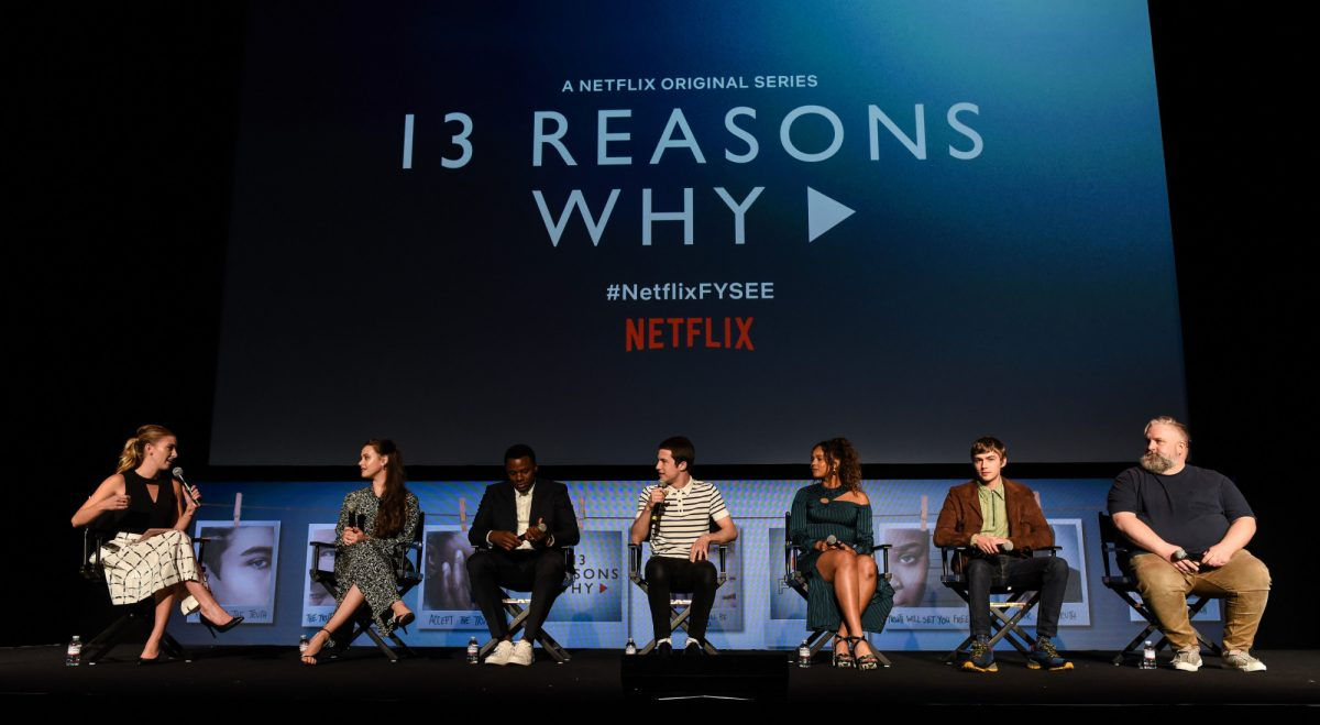 13 reasons why cast at an event